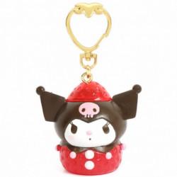Kuromi Key Chain: Strawberry