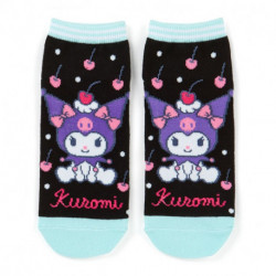 Kuromi Socks: Adult Cherry