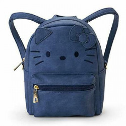 Hello Kitty Mini Backpack Pouch: Bl Fce