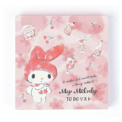 My Melody To-Do-List Memo