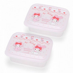 My Melody 2Pc. Lunch Case Set: