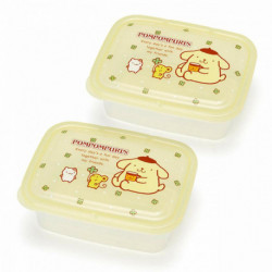 Pompompurin 2Pc. Lunch Case Set: