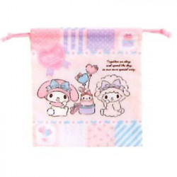 My Melody D-String Bag: Small Patchwork