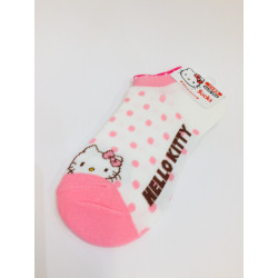 Hello Kitty Sneaker Socks Pink