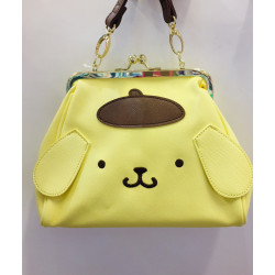Pompompurin Shoulder Bag: Kisslock
