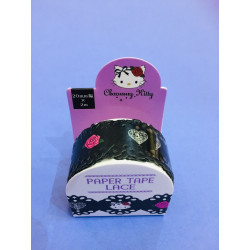 Chammy Kitty Paper Tape:Lace