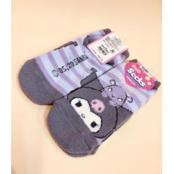 Kuromi Socks: Adult Border