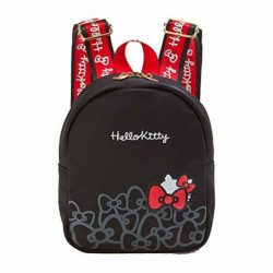 Hello Kitty Mini Backpack: Hg-Black
