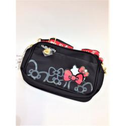 Hello Kitty Shoulder Bag: Hg-Black