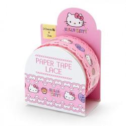 Hello Kitty Paper Tape:Lace