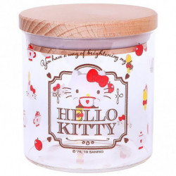 Hello Kitty Glass Canister: Tea Time