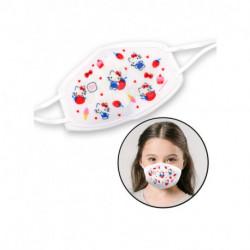 Hello Kitty Reflective Fabric Face Mask