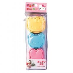 Hello Kitty Rice Ball Mold 3P Set