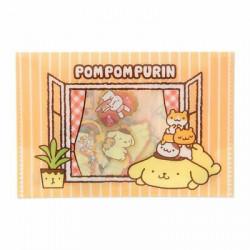 Pompompurin Flake Stickers: Window