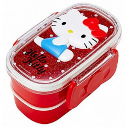 Hello Kitty 2-Tier Lunch Case: Relief
