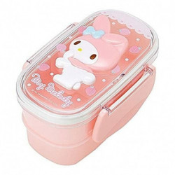 My Melody 2-Tier Lunch Case: Relief