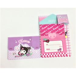 Kuromi Mini Letter Set: