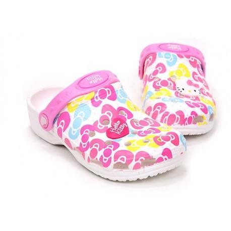 35952c7f24a4 Hello Kitty EVA Clog Sandal White 210mm - The Kitty Shop