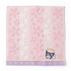Kuromi Petite Towel: Sakura