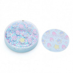 Little Twin Stars Memo Pad in Case: Compact