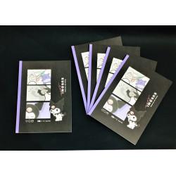 Kuromi B5 Grid Notebook