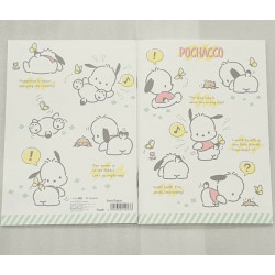 Pochacco A5 Notebook Ruled: