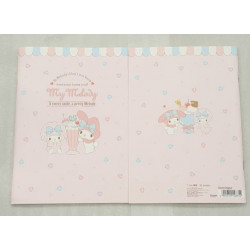 My Melody A5 Notebook Ruled: