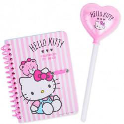 Hello Kitty Spiral Notebook & B-Pen