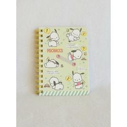 Pochacco B7 Notebook Ruled: