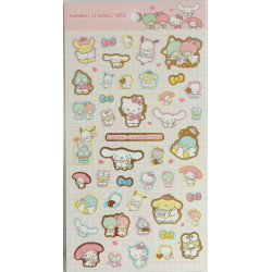 Assorted Characters Decorative Sticker