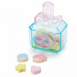 Little Twin Stars Eraser in Case: