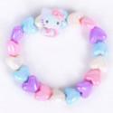 Hello Kitty Bracelet: Heart Beads