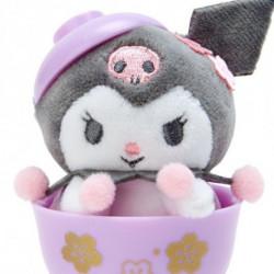 Kuromi Mascot in Mini Bowl:
