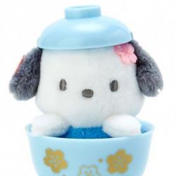 Pochacco Mascot in Mini Bowl: