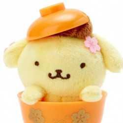 Pompompurin Mascot in Mini Bowl: