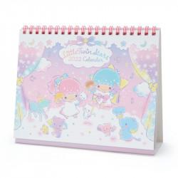 Little Twin Stars Desk Calendar: 2022