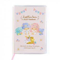 Little Twin Stars Pocketable Datebook Planner Diary: 2022