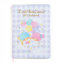 Little Twin Stars Datebook Planner Diary: B6 2022
