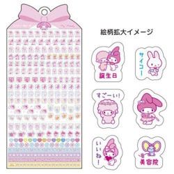 My Melody Marking Stickers: 2022