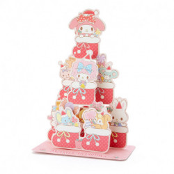 My Melody Christmas Card:mm Jx 70-1