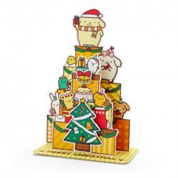Pompompurin Christmas Card:Pn Jx 72-1