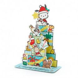 Pochacco Christmas Card:Pc Jx 74-1