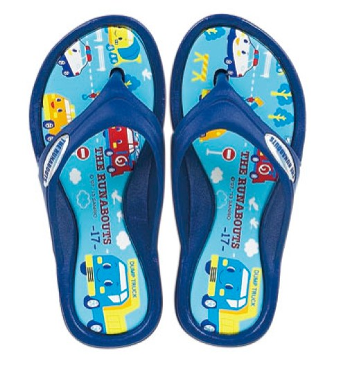 The Runabouts FLIP FLOPS: 170mm SCENE - The Kitty Shop