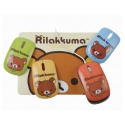 Rilakkuma RK-EMO-01 Mini Mouse with Mouse Pad 4 Emotions