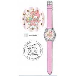 My Melody Kids Analog Watch Basket