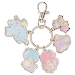 Little Twin Stars Keyring: Five's a Charm