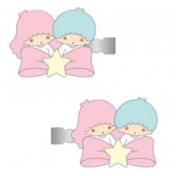 Little Twin Stars Hair Clips: Star Bow