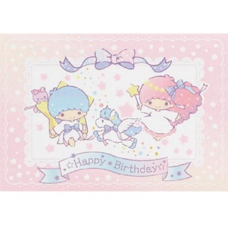 Little Twin Stars Birthday Card 300jpcr 7 5 The Kitty Shop