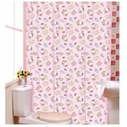Hello Kitty Shower Curtain Kg1639