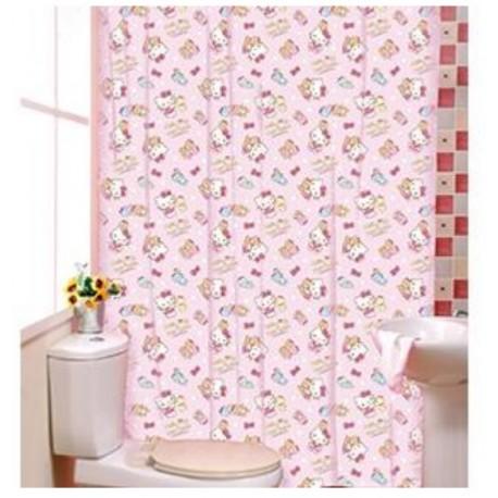 Hello Kitty Shower Curtain Kg1639